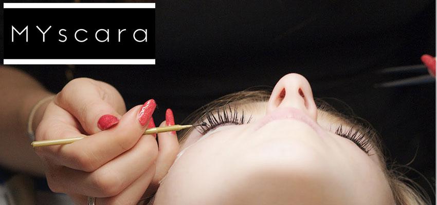 MYscara  — процедура полуперманентного окрашивания ресниц и бровей