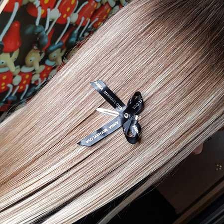 Окрашивание волос в СПб Работа Анны Михайловой