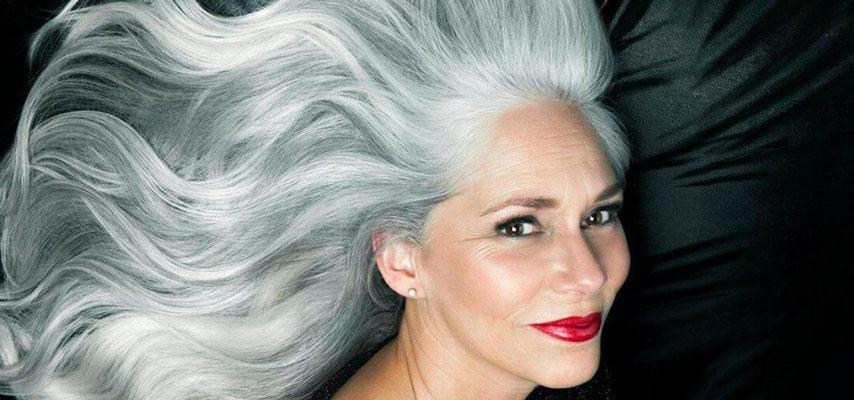 Способы окрашивания седых волос